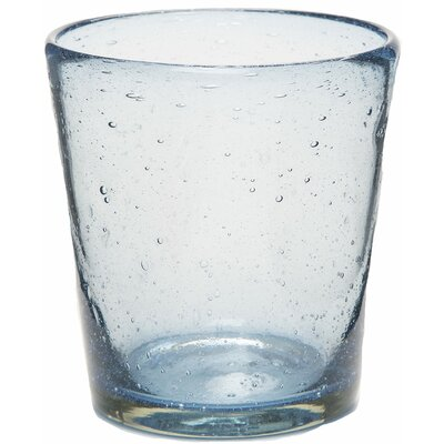 Karinthia Bright Bubbled Recycled 10 oz. Water Glass B7784B85FD3B4A048F5B634999F86F01