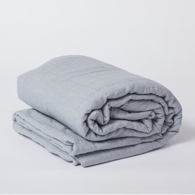 Linen Quilt Color: Chambray