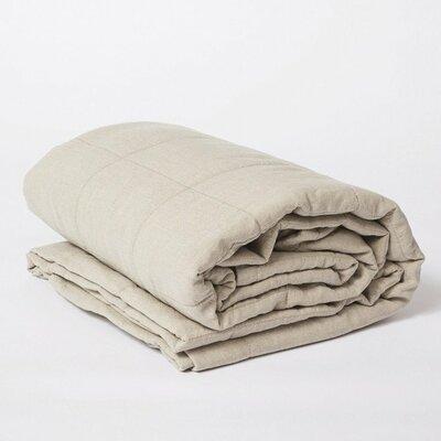 Linen Quilt Color: Natural