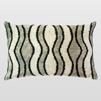 Renkli Silk Velvet Lumbar Pillow