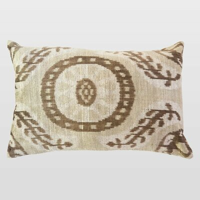 Bordo Silk Velvet Lumbar Pillow
