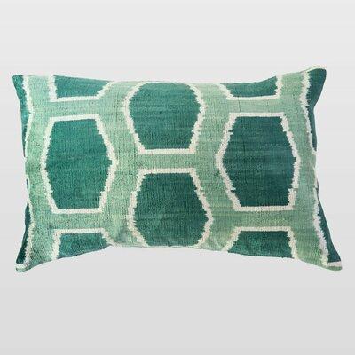 Izma Silk Velvet Lumbar Pillow