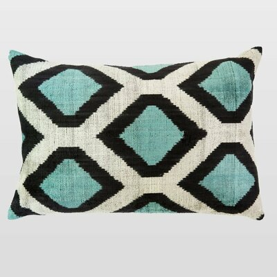 Arzu Silk Velvet Lumbar Pillow
