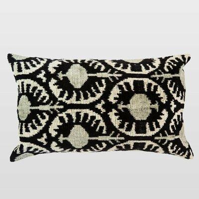 Beyaz Silk Velvet Lumbar Pillow