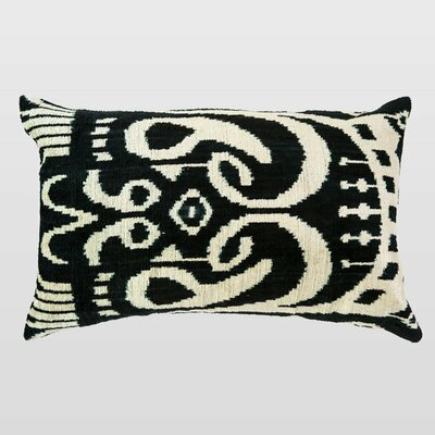 Boyali Silk Velvet Lumbar Pillow