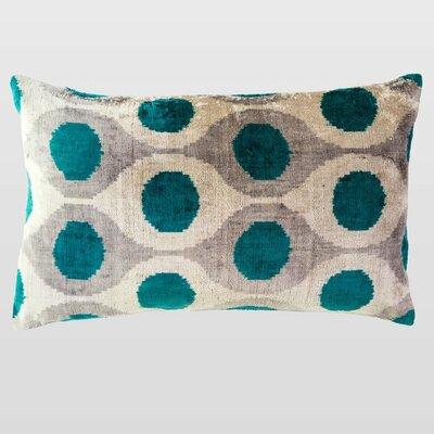 Elbette Silk Velvet Lumbar Pillow