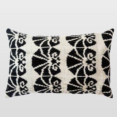Sabah Silk Velvet Lumbar Pillow