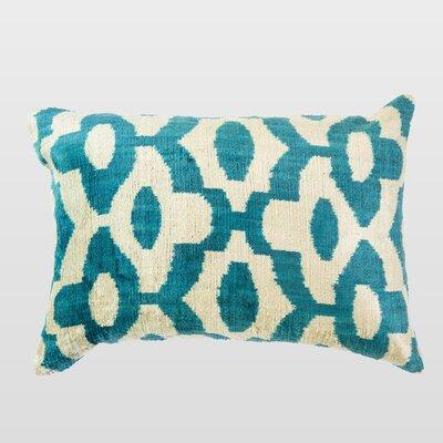 Turu Silk Velvet Lumbar Pillow