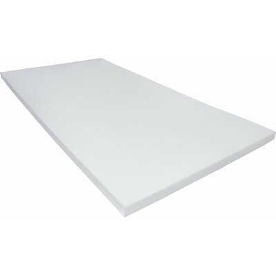 Memory Foam Mattress Topper Size: Twin