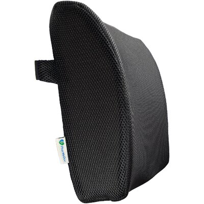 Lumbar Back Support Color: Black