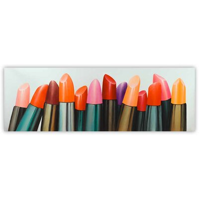 'Lipsticks Collection' Oil Painting Print on Wrapped Canvas 1009-2060-MI53