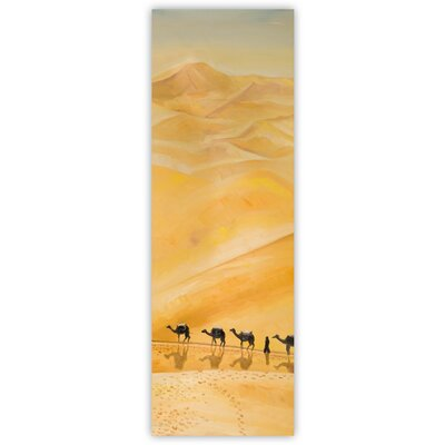 'Camel in the Desert' Oil Painting Print on Canvas D5437B8FD85646CCBA3A674C9B426B24
