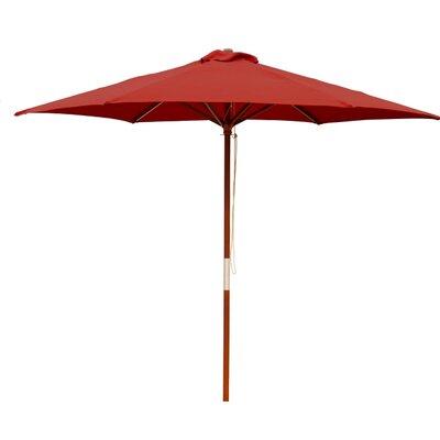 9 Market Umbrella Color: Wine Red