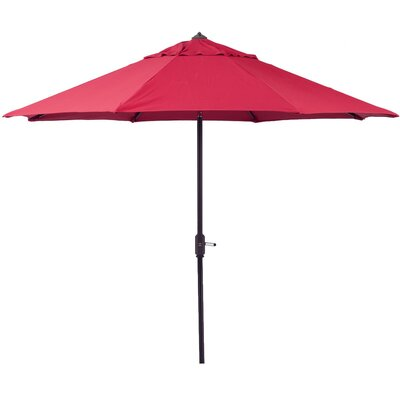9 Market Umbrella Color: Red