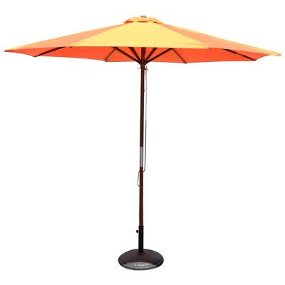 9 Market Umbrella Color: Orange