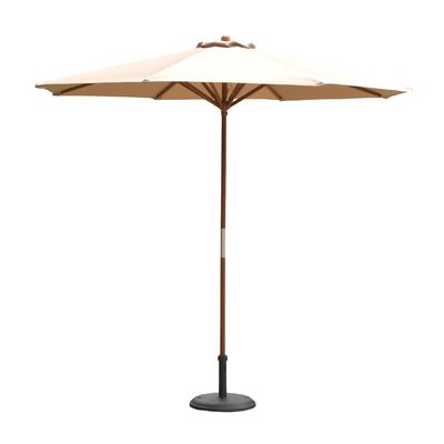 9 Market Umbrella Color: Chocolate