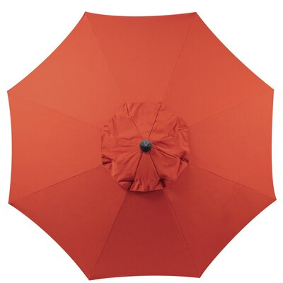 9 Market Umbrella Color: Rust