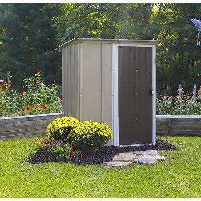 122 cm x 151 cm Gartenhaus Leipzig | Garten > Gartenhäuser | Brown | Metall - Lackiert | Arrow