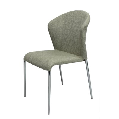 Bruening Upholstered Dining Chair Color: Beige