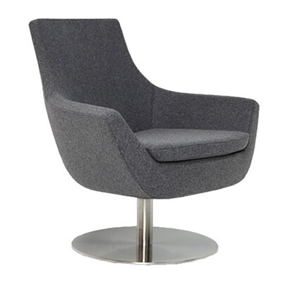 Cowie Upholstered Dining Chair Upholstery Color: Gray
