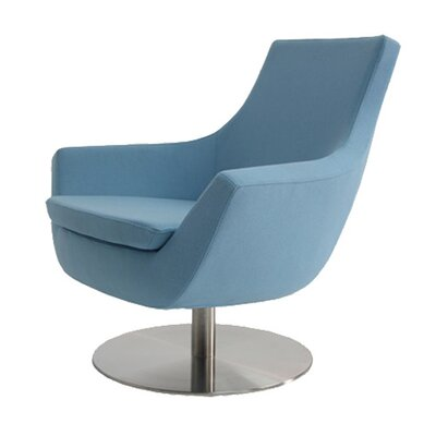 Cowie Upholstered Dining Chair Upholstery Color: Blue