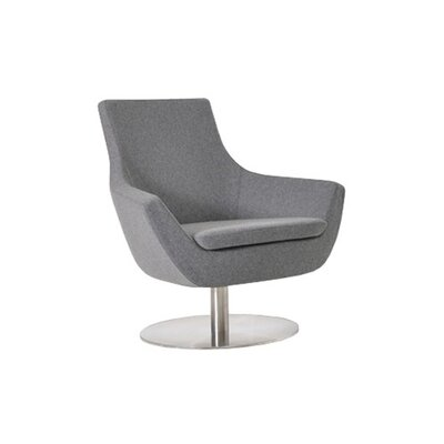 Cowie Upholstered Dining Chair Upholstery Color: Light Gray