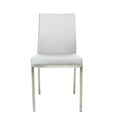 Reay Metal Dining Chair Upholstery Color: White