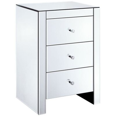 Brooks Bay 3 Drawer Nightstand