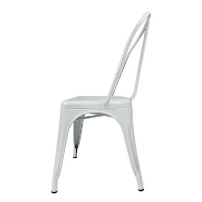 Yashvi Dining Armless Chair Color: White