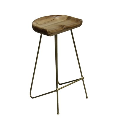 Labounty 30 Bar Stool Color: GOLD