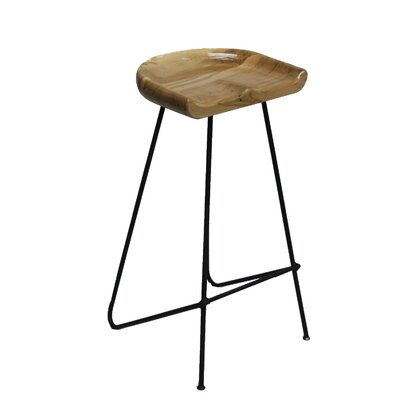 Labounty 30 Bar Stool Color: Black