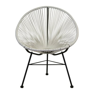 Ringler Papasan Chair Finish: White
