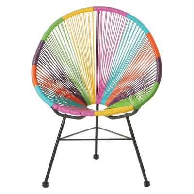 Richarson Papasan Chair Finish: Rainbow