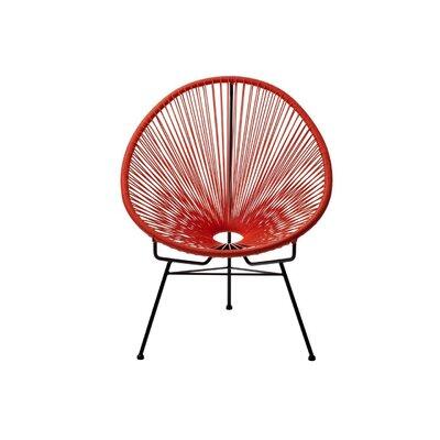 Richarson Papasan Chair Finish: Red
