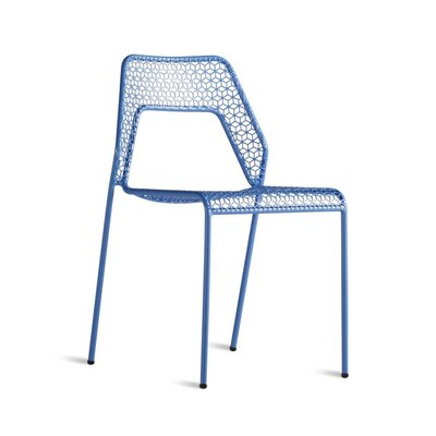 Crozier Dining Chair Color: Blue