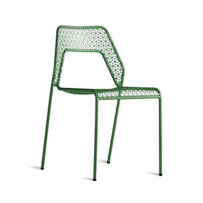 Crozier Dining Chair Color: Green