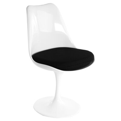 Burgos Armless Dining Chair Color: Black