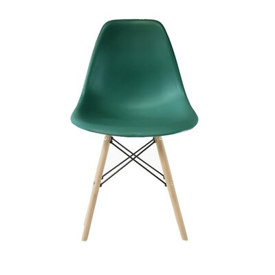 Westman Dining Chair Color: Peacock, Leg Color: Walnut