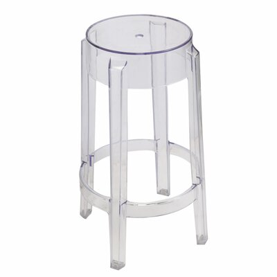 Poitra Transparent 30 Bar Stool