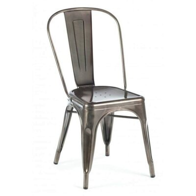 Ricci Bar Stool Color: Silver