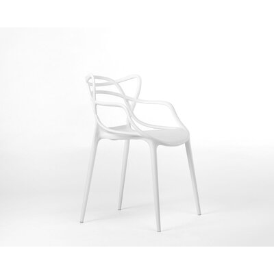 Burkhart Dining Chair Color: White