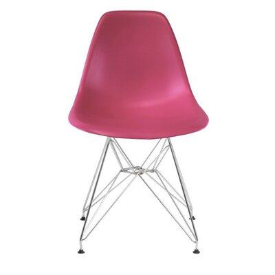 Polanco Dining Chair Color: Pink
