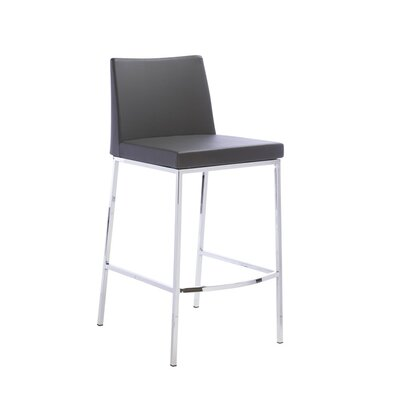 Rearick 30 Bar Stool Color: Black