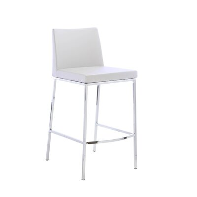 Rearick 30 Bar Stool Color: White