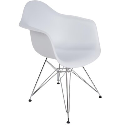 Polaris Dining Chair Color: White