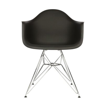 Polaris Dining Chair Color: Black