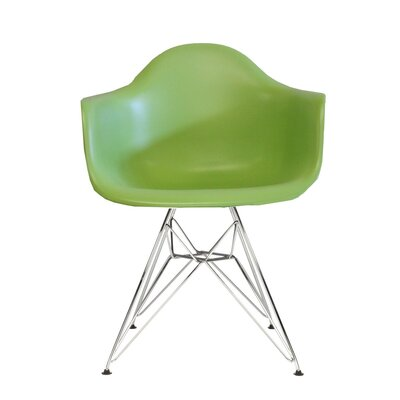 Polaris Dining Chair Color: Green