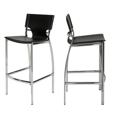 Roddy Bar Stool Size: 30 H x 17 W x 17 D, Set Of: Set of 2