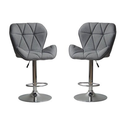 Mancilla Adjustable Height Swivel Bar Stool