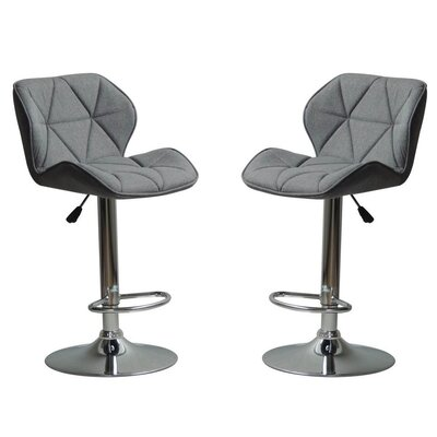 Ousley Adjustable Height Bar Stool